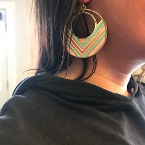 80's style torrid dangle earrings